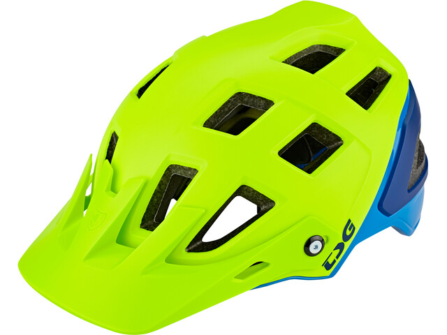 TSG Scope Graphic Design Helmet Herren acid yellow-blue